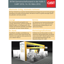 BITMi CeBIT Exposee 2016