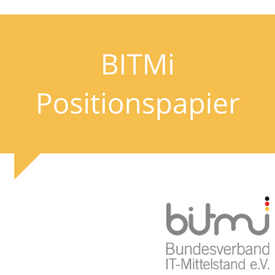 BITMi Positionspapier