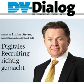 Mitgliedernews: Interview zu Digitalem Recruiting von SUMMIT IT CONSULT