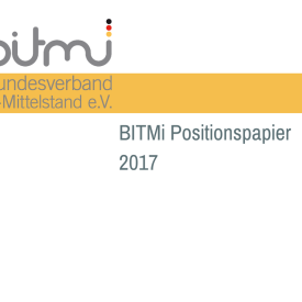 "Positionspapier 2017 ""Digitaler Mittelstand 2020"""