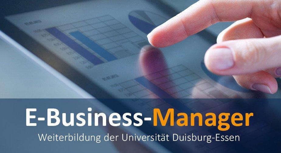 Weiterbildung zum E-Business Manager