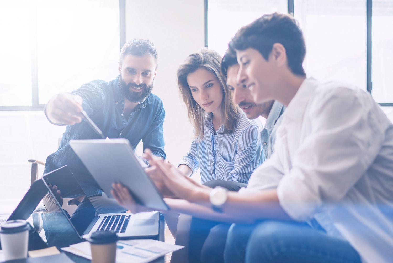 BITMi-Netzwerkabend Speed-Pitch Startup Geschäftsmodell Vorstellungsrunde