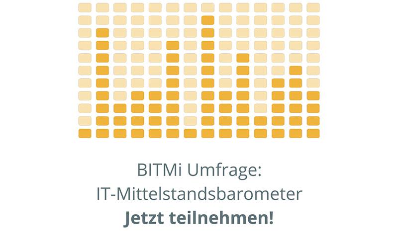 BITMi Stdie Umfrage IT-Mitteslstand Themen Trends