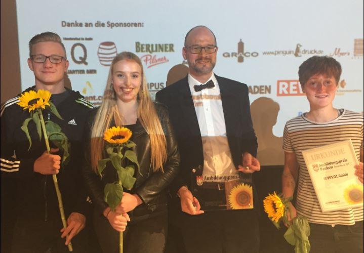 BITMi Mitglied erhält Ausbildungspreis 2017 Berliln Pankow