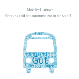 Kurzstudie Mobility Sharing - Autonome Busse
