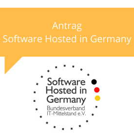 Antrag Software Hosted in Germany