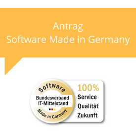 Antrag Software Made in Germany