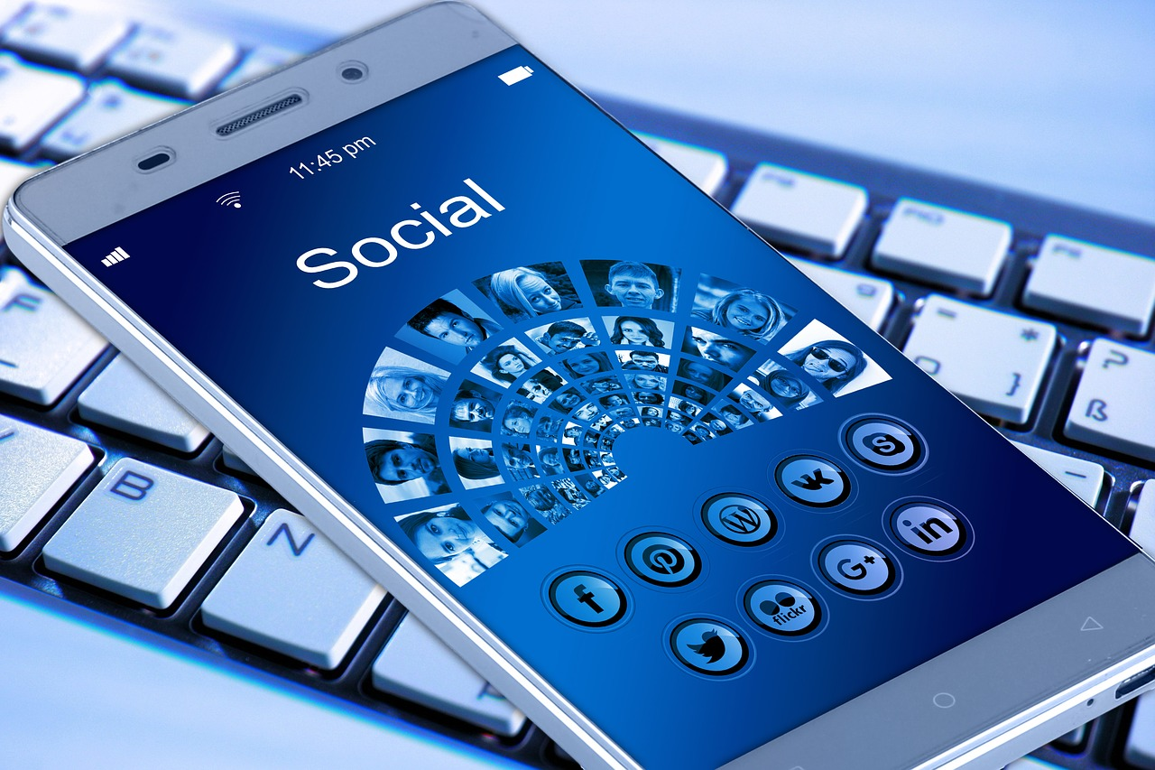 Smartphone Soziale Netzwerke